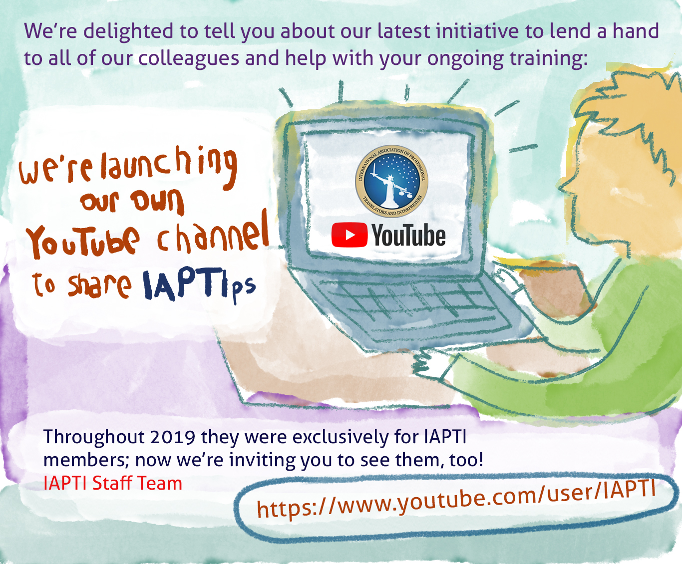 IAPTI's YouTube Channel